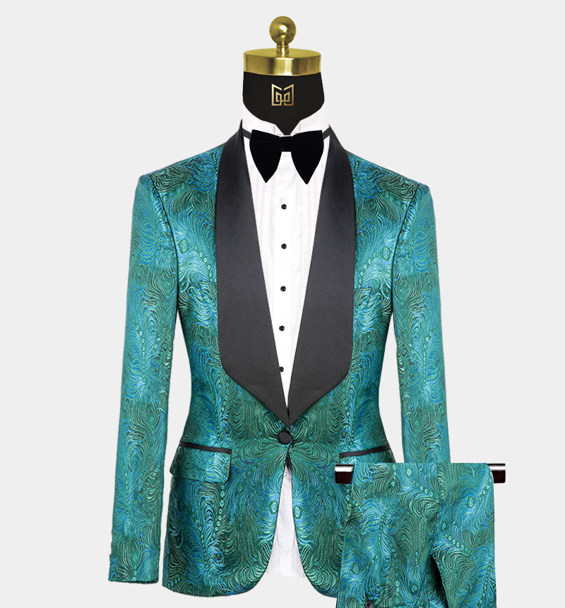 Green-Prom-Suit-Wedding-Tuxedo-from-Gentlemansguru.com