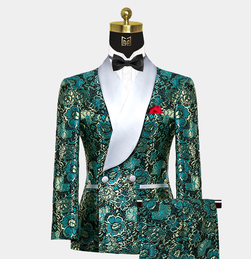 Mens-Teal-Blue-Green-Tuxedo-Wedding-Prom-suit-from-Gentlemansguru.com