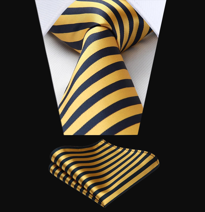 Gold-Striped-Tie-Set-from-Gentlemansguru.com