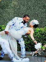 Customer-Gallery-Review-Groom-Wedding-Blue-Silver-Suit-Tuxedo-from-Gentlemansguru.com