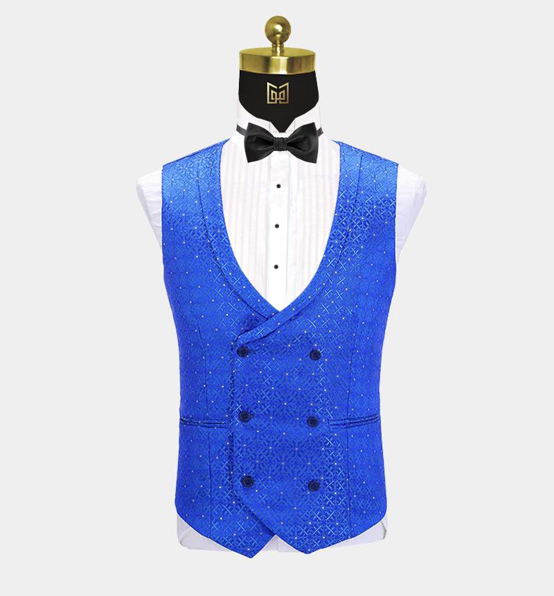 Bright-Blue-Suit-Vest-Wedding-Groom-Waistcoat-from-Gentlemansguru.com