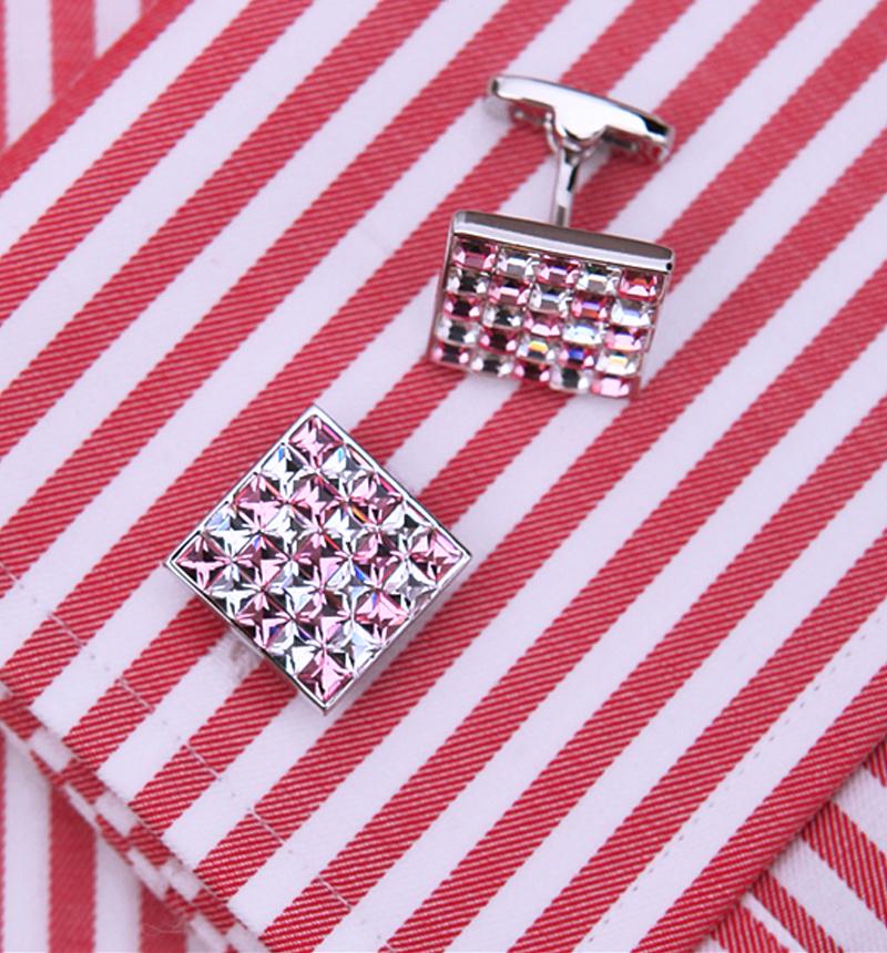 White-Pink-Cufflinks-from-Gentlemansguru.com