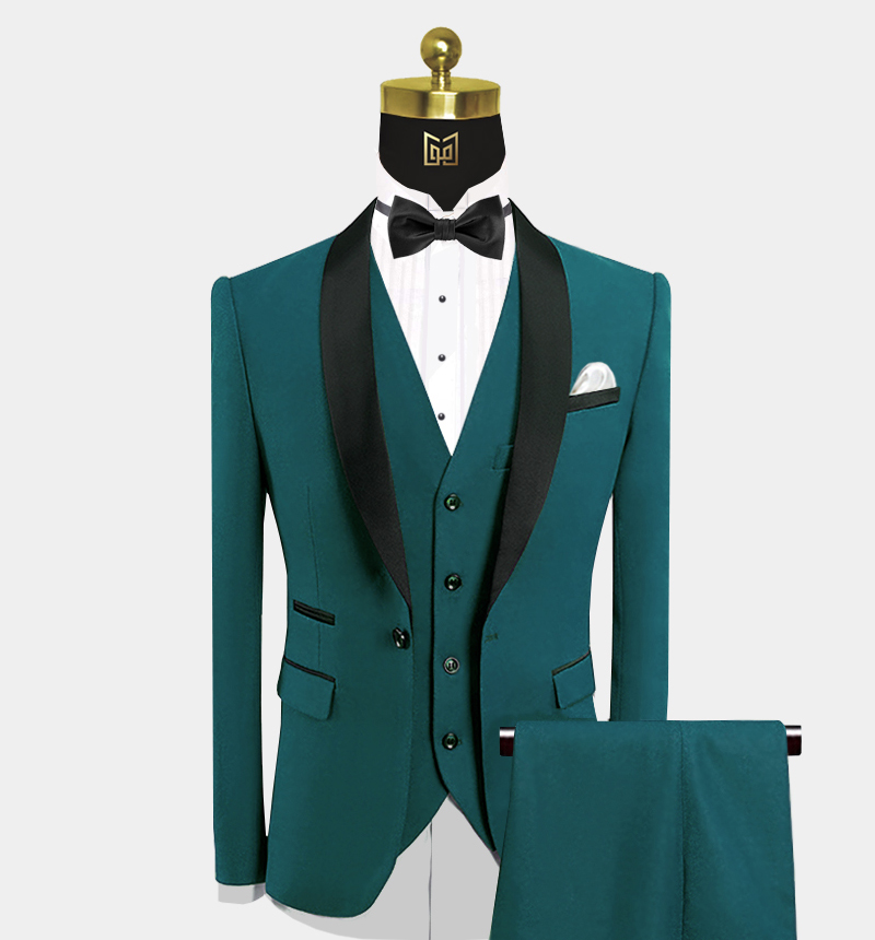 Dark-Teal-Tuxedo-Wedding-Groom-Prom-Suit-from-Gentlemansguru.com