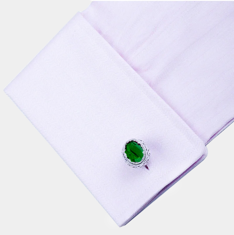 Pretty-Green-Cufflinks-Groom-Wedding-Cufflinks-from-Gentlemansguru.com