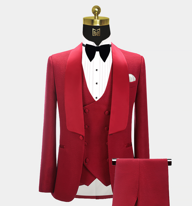 Red-Patterned-Tuxedo-Groom-Wedding-Prom-Suit-from-Gentlemansguru.com