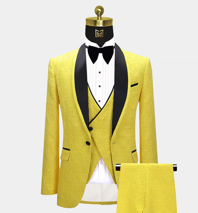 Yellow-and-Black-Tuxedo-Wedding-Suit-from-Gentlemansguru.com