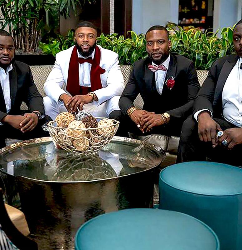 Customer-Gallery-Burgundy-White-Wedding-Suit-Grooms-Tuxedo-from-Gentlemansguru.com